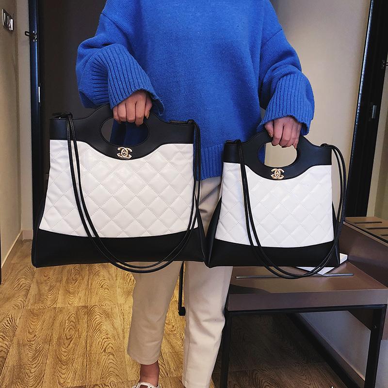กระเป๋าถือ นักเรียน ผู้หญิง วัยรุ่น ชัยนาท กระเป๋าสะพายใบใหญ่ 2019 ใหม่ผู้หญิงกระเป๋าแนวยุโรปและอเมริกาแฟชั่น Tote Bag กระเป๋าสะพายไหล่ความจุขนาดใหญ่กระเป๋าสะพายข้างกระเป๋าถือแฟชั่น