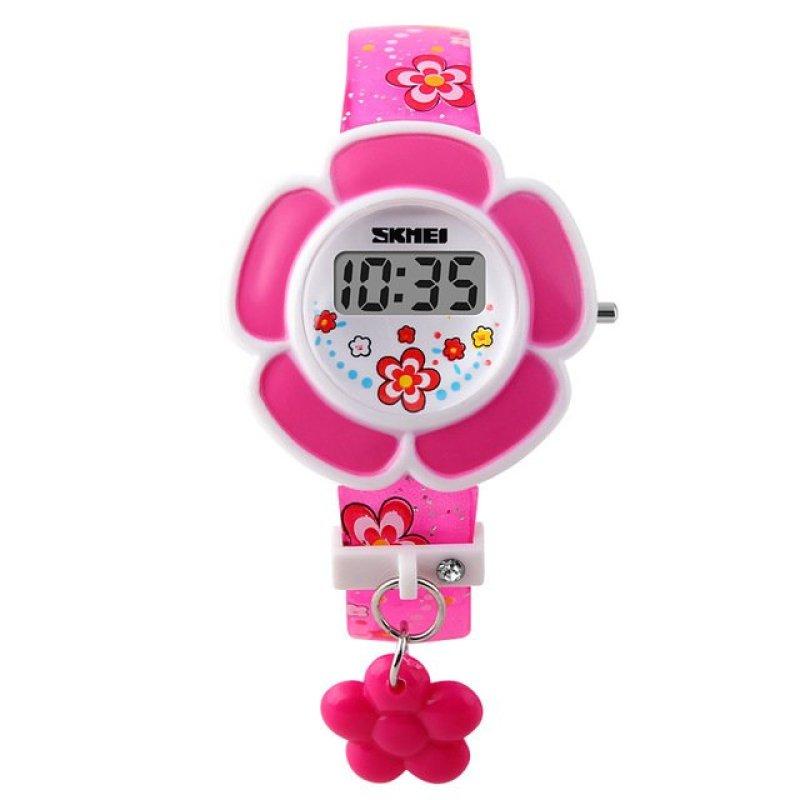 Đồng hồ bé gái dây nhựa Skmei 1144 (Hồng) bán chạy