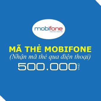 Mua Mã thẻ Mobifone 500.000  ở đâu tốt
