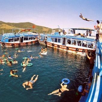 Tour Bình Ba xe giường nằm 2N3Đ- Bar trên biển- BBQ hải sản