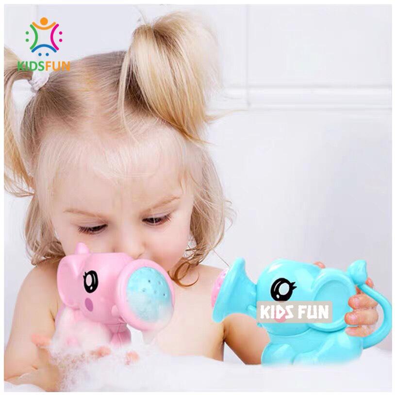 Đồ chơi mùa hè, đồ chơi bồn tắm cho trẻ em từ 1 tuổi trở lên, đồ chơi nhà tắm rót nước hình con voi ngộ nghĩnh nhựa ABS cao cấp 2