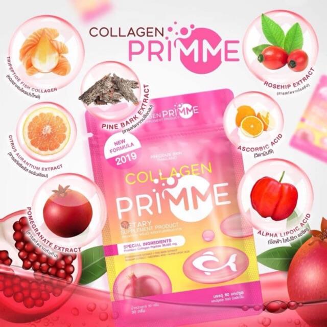 Viên uống trắng da Collagen Primme Thái Lan 1