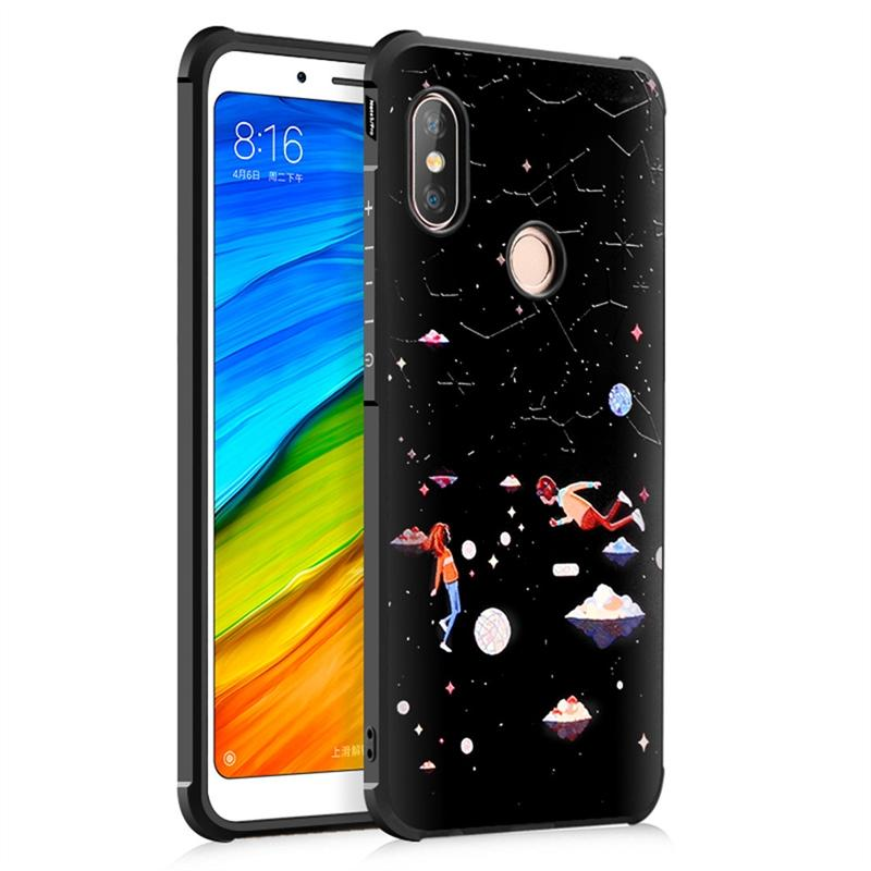 AS Beauty Phone Case for Xiaomi Redmi Note 5 / Note 5 Pro Case TPU Painting