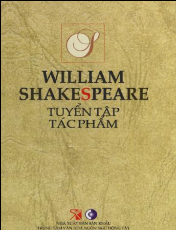 William Shakespeare Tuyển Tập Tác Phẩm
