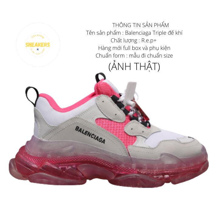 Giày nam nữ sneaker thể thao Ba.Len.cia.ga đế khí đế tách phân tầng chuẩn chữ 4