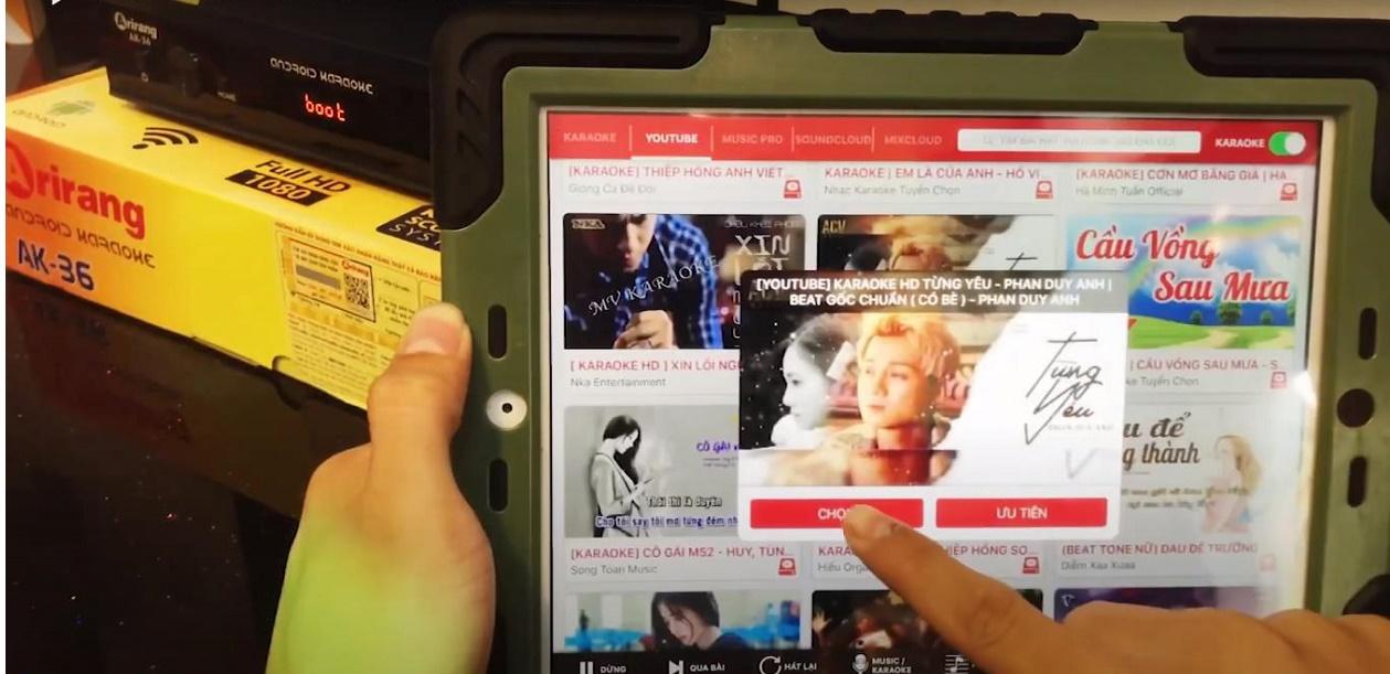 Đầu Karaoke Vi Tính Arirang Smart K , Kèm ổ cứng 3T đã chép nhạc, Đã cài App Smart Karaoke Player Pro (Ảnh 6)