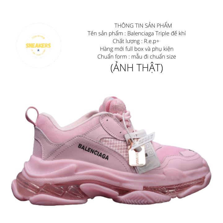 Giày nam nữ sneaker thể thao Ba.Len.cia.ga đế khí đế tách phân tầng chuẩn chữ 3