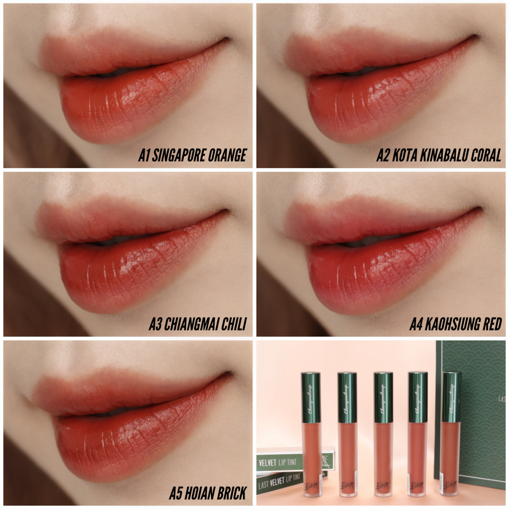 Son Kem Bbia Last Velvet Lip Tint Asia EDiton | Lazada.vn
