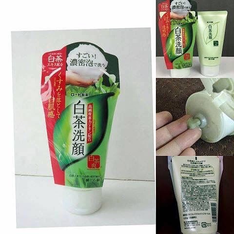 SỮA RỬA MẶT TRÀ XANH ROHTO SHIROCHASOU GREEN TEA FOAM 120G | Lazada.vn