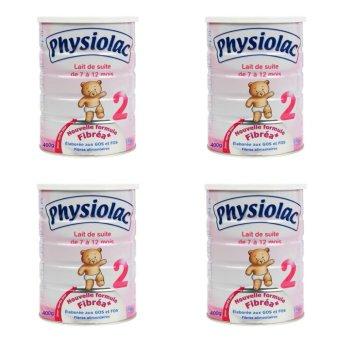 Bộ 4 sữa bột Physiolac 2 900g
