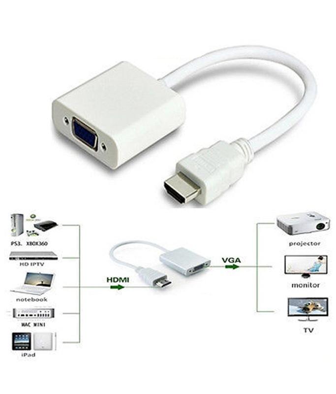Bảng giá Cáp chuyển HDMI ra VGA Phong Vũ